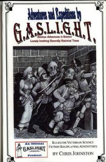 Adventures and Expeditions by GASLIGHT Victorian RPG